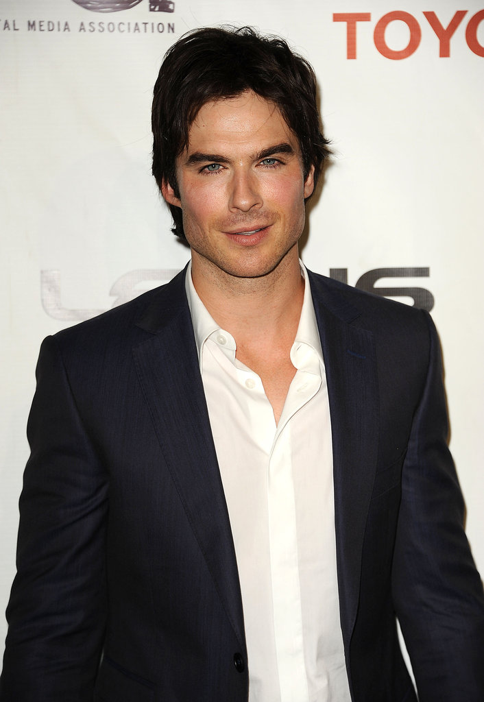 Ian Somerhalder was smokin' hot at the September 2012 Environmental Media Awards in LA.