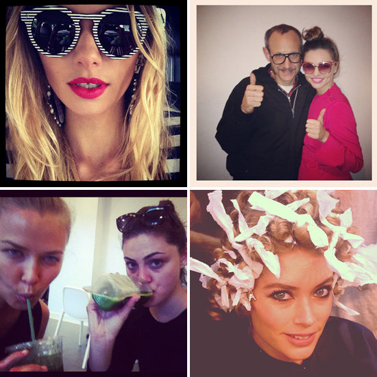 Candids: See What Jess, Lara, Phoebe, Doutzen & More Got Up To This Week