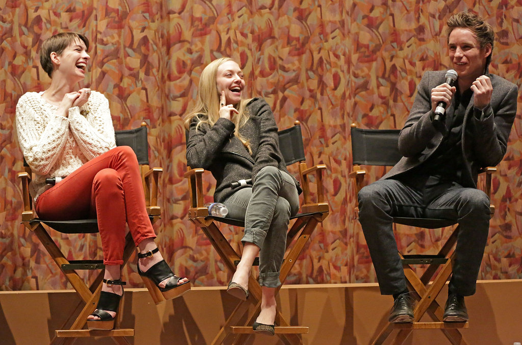 Anne, Amanda, and Hugh Bring Les Mis West For a SAG Screening