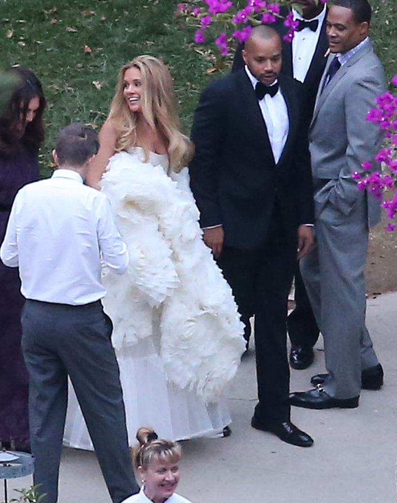 See Jessica Simpson as a Bridesmaid at CaCee Cobb and Donald Faison's Wedding