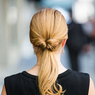 How to Do an Inside-Out Ponytail