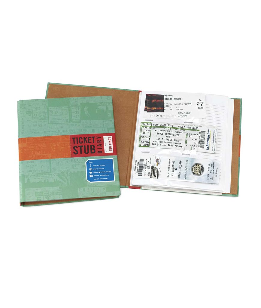 Ticket Stub Diary ($11)