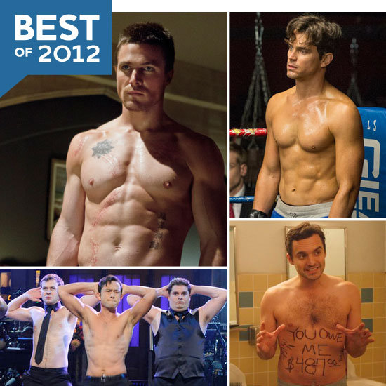 The Best Shirtless TV Moments of 2012