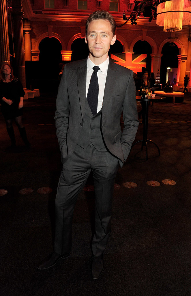 Tom Hiddleston made a dapper appearance at the BIFAs.