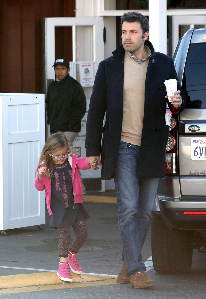 Ben and daughter Seraphina enjoyed a breakfast run in Brentwood earlier today.