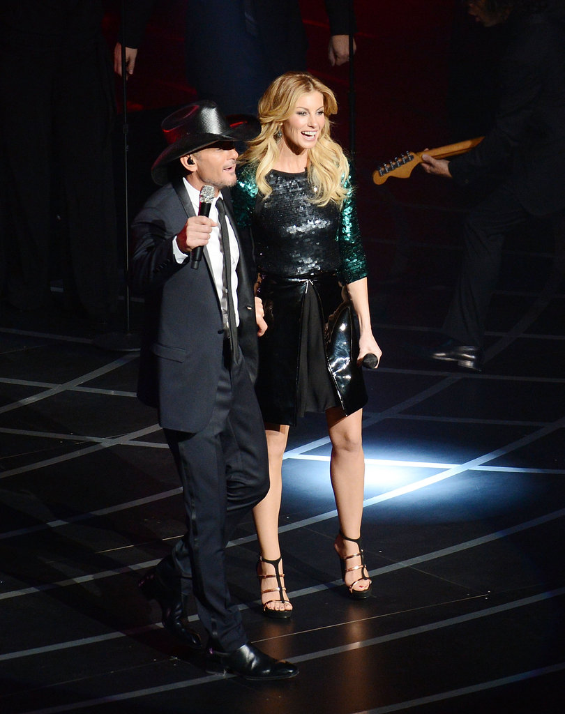 Tim McGraw and Faith Hill kicked off their Soul2Soul show at The Venetian.