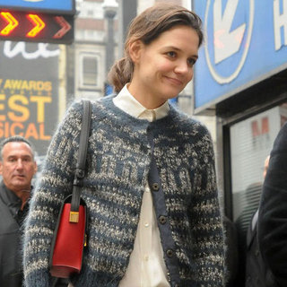 Katie Holmes Heads to Work For Dead Accounts | Pictures