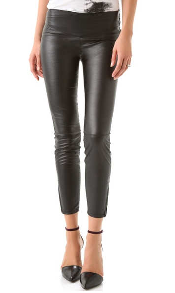 Every girl needs a pair of black leather leggings in her closet and we especially love the crop on these Blank vegan leather leggings ($62, originally $88).