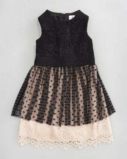 Milly Minis Jane Combo Dress