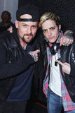 Benji Madden and Samantha Ronson