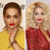 Picture of Rita Ora With Wet Look Hair at Jingle Bell Ball