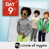 18 Days of Holiday Giveaways, Day 9: Circle of Moms — Win Gap Gift Cards!