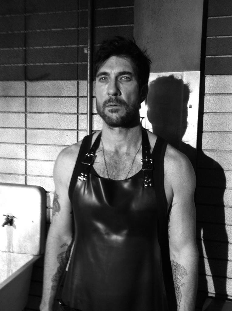 Dylan McDermott headed back to work at American Horror Story. Source: Twitter user MrRPMurphy