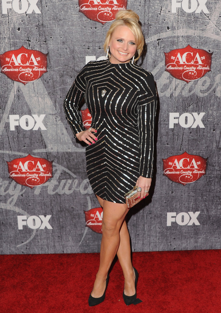 Miranda Lambert posed on the red carpet.