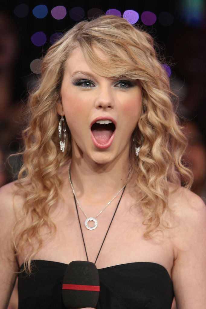 Taylor Swift's appeared on TRL in February 2008.