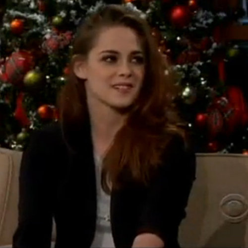 Kristen Stewart on the Late Late Show (Video)