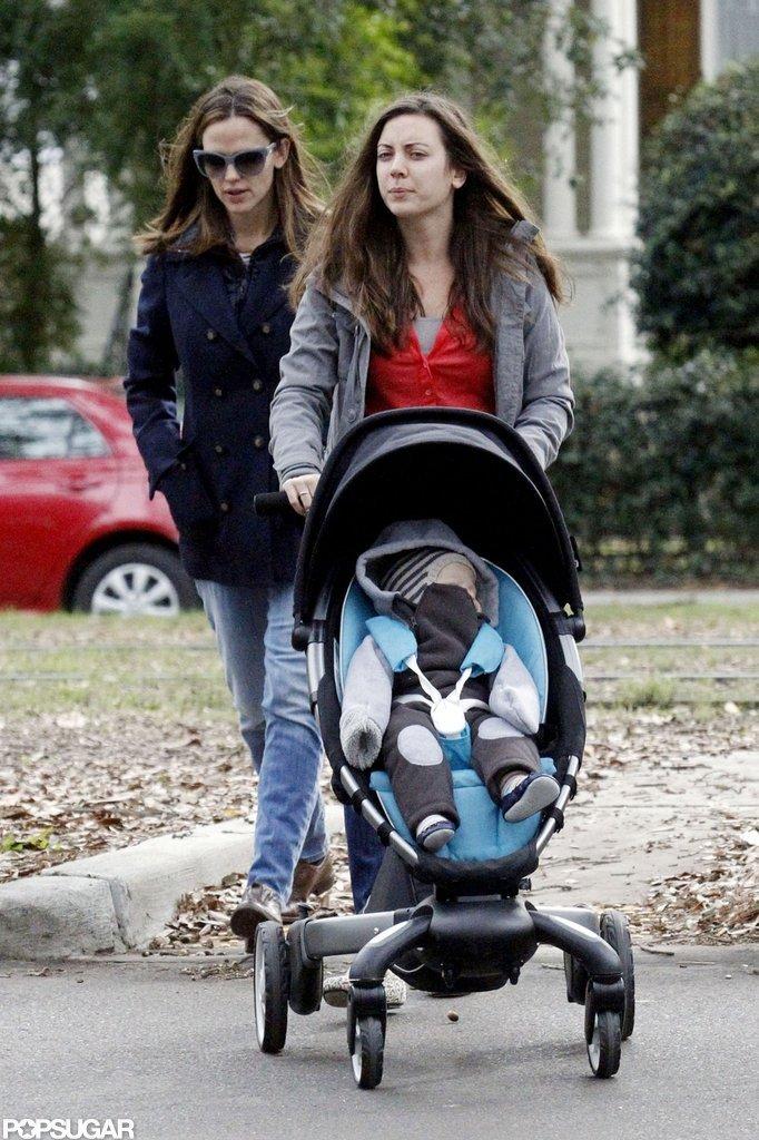 Jen and Samuel Hang in NOLA as Ben Preps to Costar With Kristen