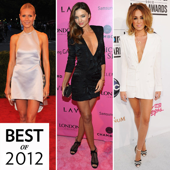 Celebrities Wearing Minidresses 2012