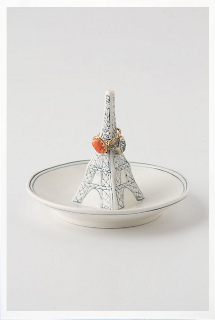 This adorable Eiffel Tower Ring Dish ($12) is a clever way to store her jewels — and could be a sweet reminder of a favorite destination.