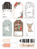 Kelli Murray Yuletide Gift Tags