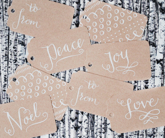 Sweet Muffin Suite&#039;s Calligraphy Tags