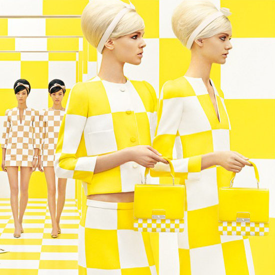 Reality Check: Louis Vuitton's New Ads Reprise Spring 2013 Runway Set