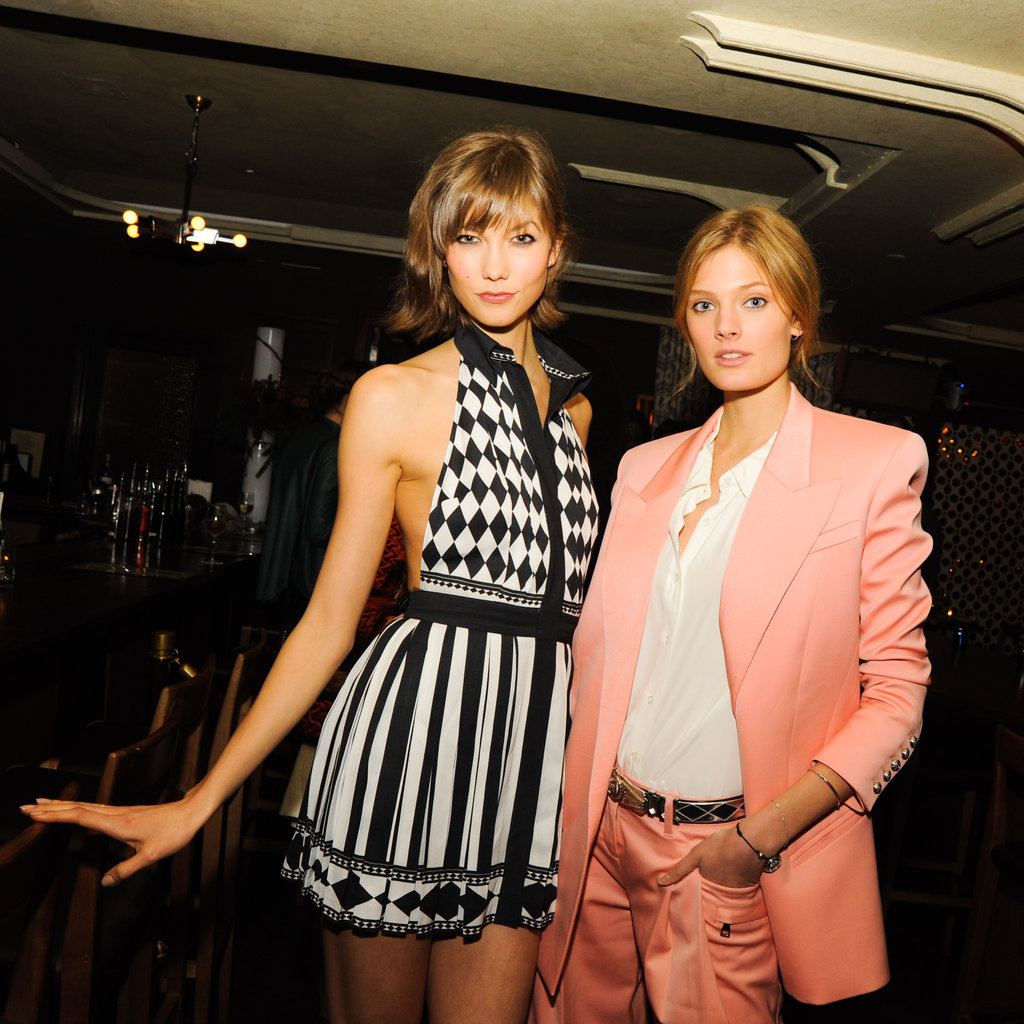 Karlie Kloss and Constance Jablonski
