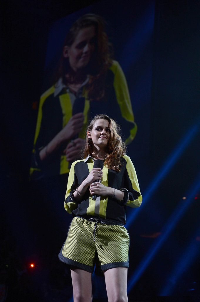 Kristen Stewart Steps Up For 12/12/12 Sandy Relief Concert
