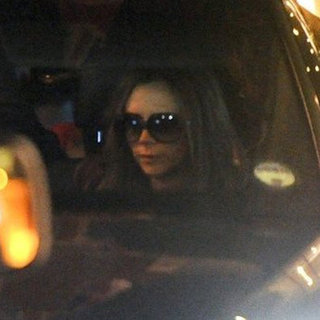 Victoria Beckham Dining Out With Her Kids | Pictures