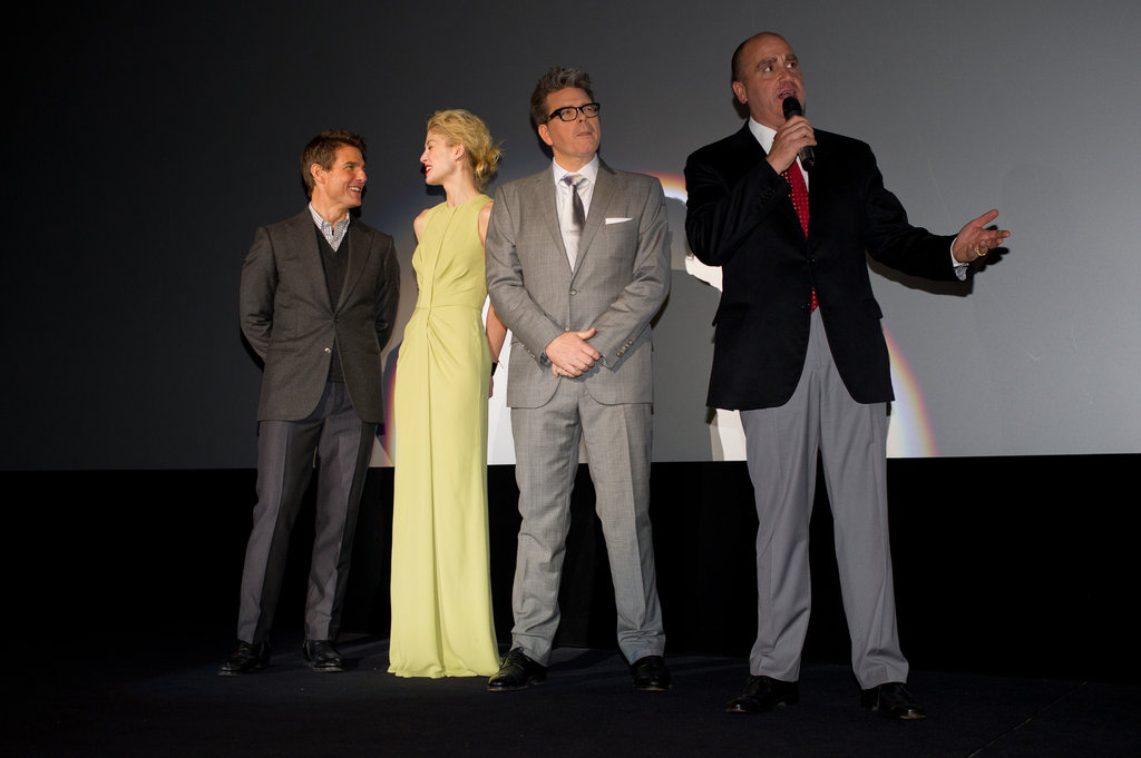 Tom Cruise and his costars attended the premiere.