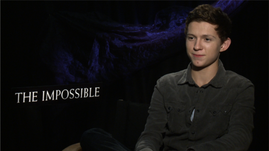 The Impossible's Tom Holland Talks About His Special Bond With Naomi Watts