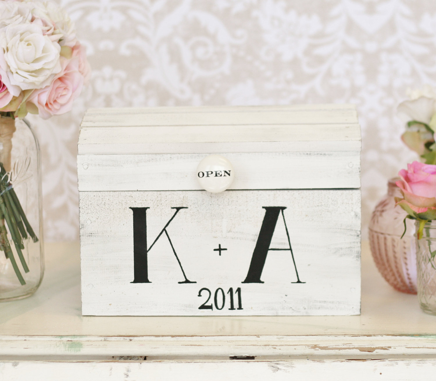 Vintage Wedding Gift Card Boxes : Wedding Card Boxes Our Favorite Etsy Finds of the Year POPSUGAR ...