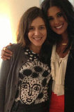 Margherita Missoni posed with Rachel Roy. Source: Twitter user mmmargherita