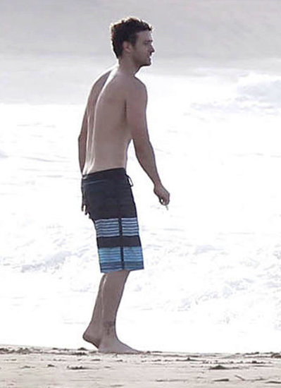 Justin Timberlake showed off his physique on the beach in Puerto Rico back in July.