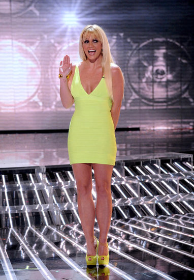 Britney Goes Bright on X Factor as Two Groups Battle For the Finals