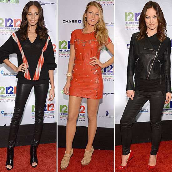 Joan, Blake, Kristen, and More Glam Up For a Good Cause at 12-12-12