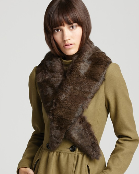 To me, this Burberry rabbit fur stole ($995) is the epitome of Winter luxury. Apart from its obvious warmth-inducing allure, it also provides an instant dose of Russian doll-inspired glamour. Blame it on Anna Karenina, but I'm all about that right now. — Marisa Tom, associate editor