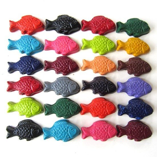 Ivy Lane Designs Fish Crayons ($8/set of six)