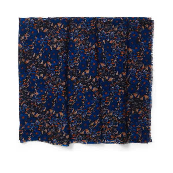 She'll be able to wear this stylish, luxurious floral scarf ($90) with a variety of outfits year-round.