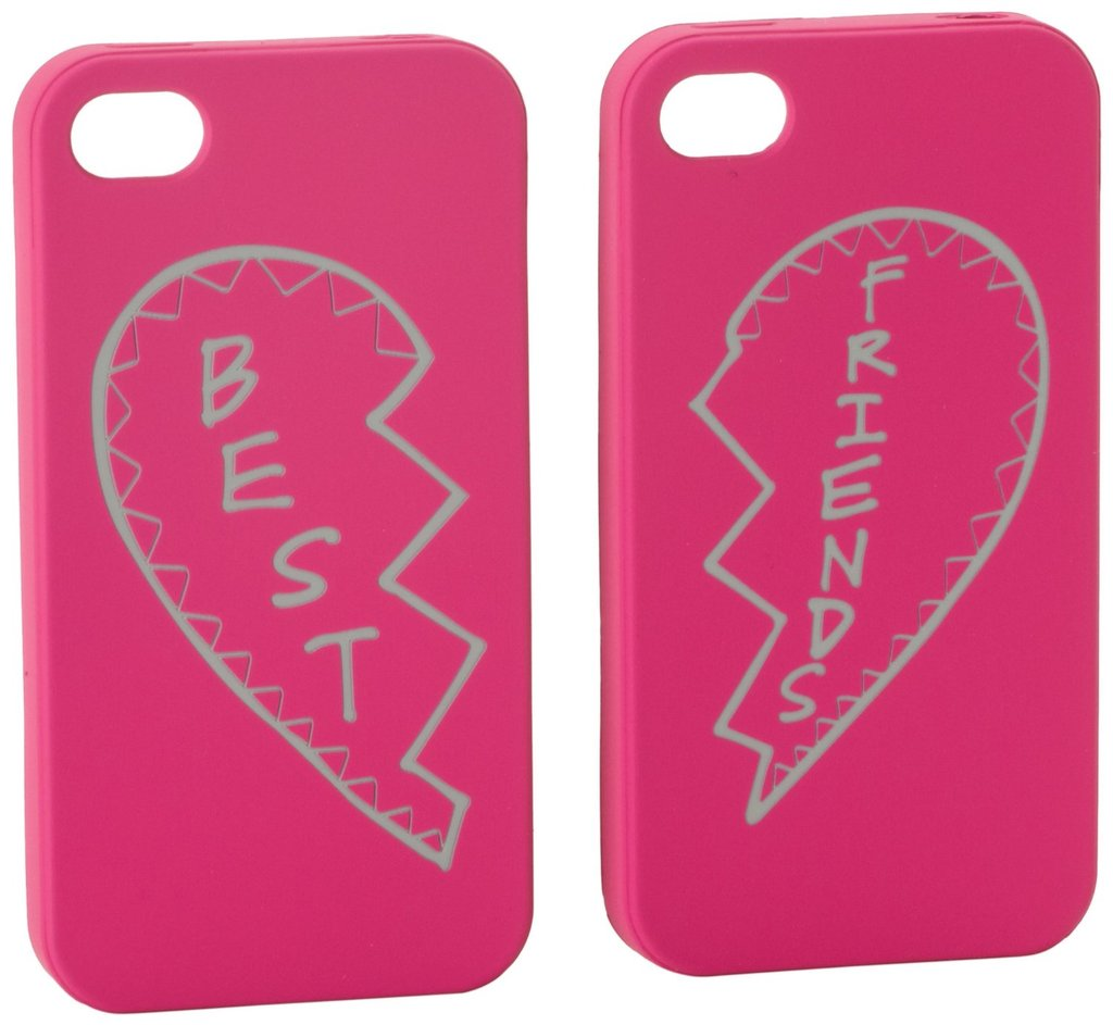 Rebecca Minkoff's best friend iPhone cases ($58) are the silly, grown-up version of best friend necklaces.