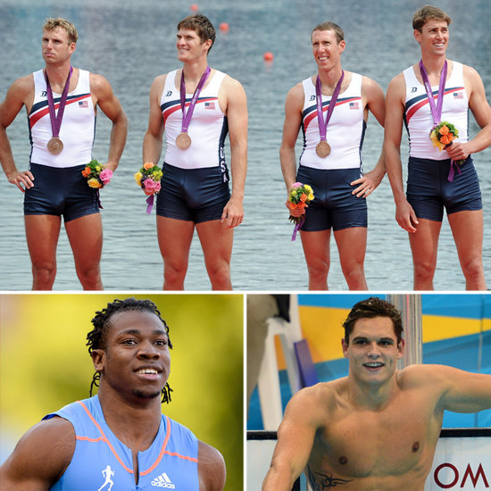 Check out the Games' golden boys — the hottest Olympians competing in London.