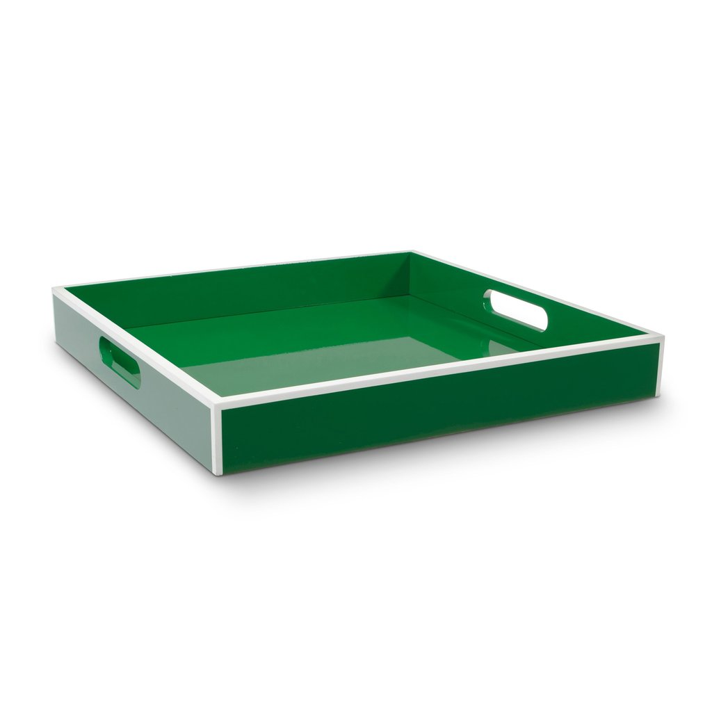 The lacquered serving tray ($78) will give her dresser, coffee table, or bar cart a cool, modern upgrade.