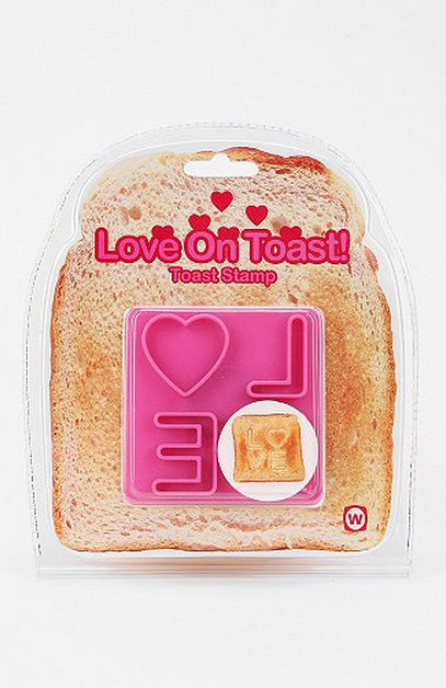 This love-on-toast stamp ($6) is so ridiculous that she's sure to love it.