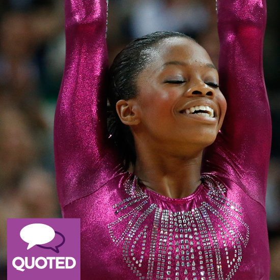 Gabby Douglas talked about her hair, her single mom, and making history.