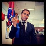 Gen caught an old episode of Entourage; pined for Ari Gold and his water pistol. Can't wait to see the movie!