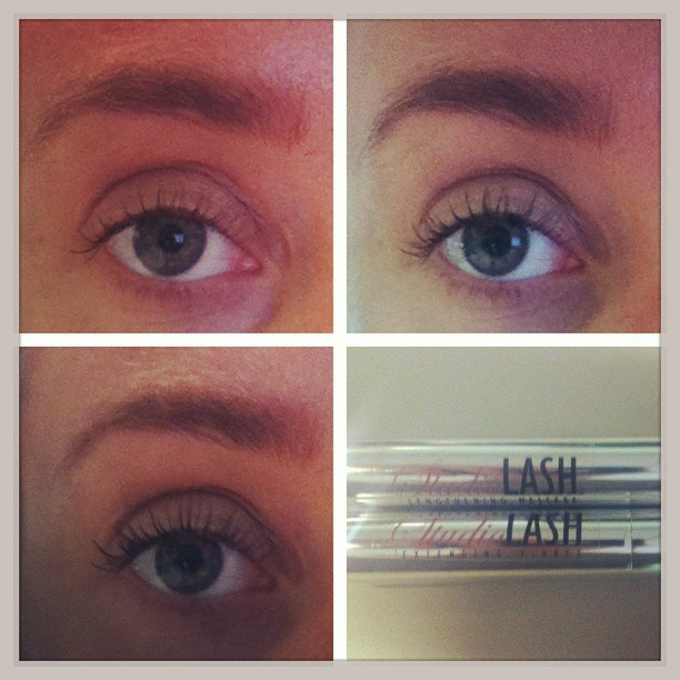 Alison trialled StudioLASH's Fibre Lash Extension Mascara, and this is the result! She was impressed, what about you guys?