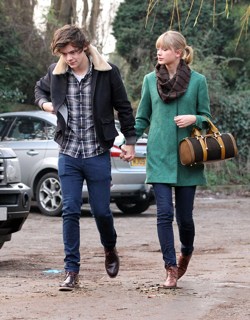 Taylor Swift and Harry Styles Celebrate Her 23rd With Chinese Food and PDA