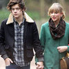 Taylor Swift and Harry Styles Hold Hands in England