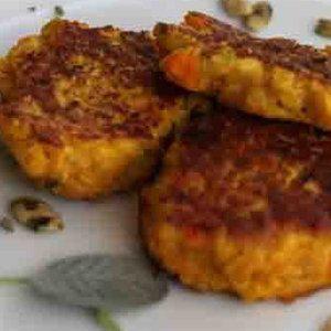 Savory Pumpkin Quinoa Cakes