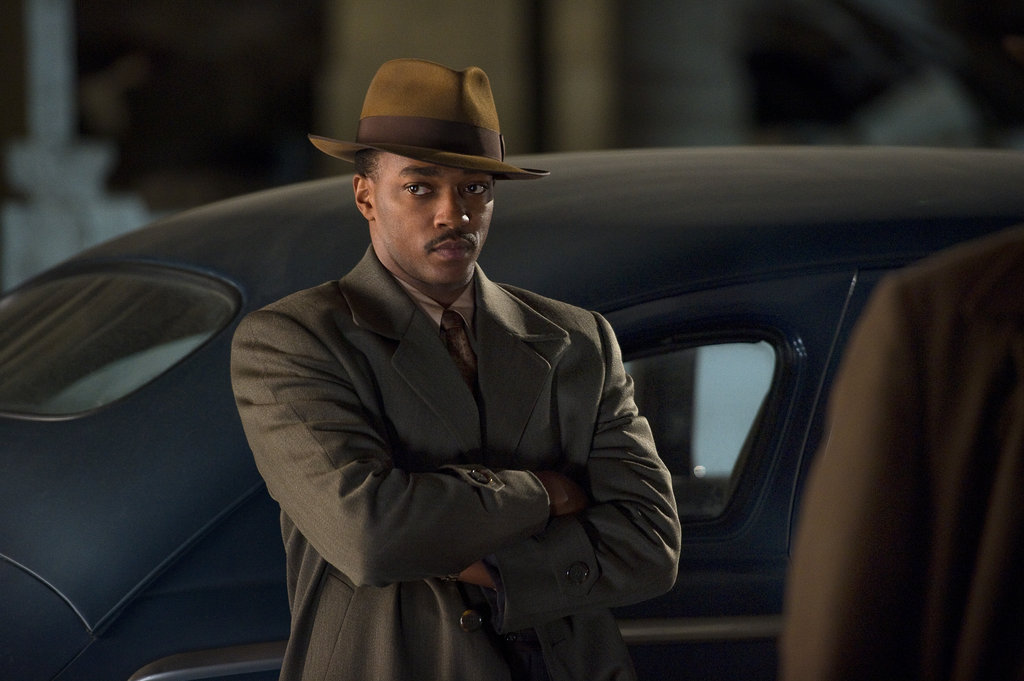 Anthony Mackie in Gangster Squad.